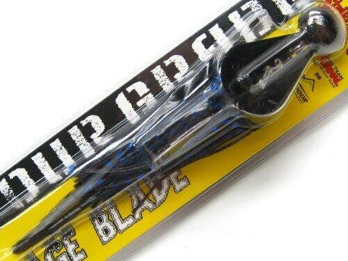 Strike King TGRB12 Black Blue Tour Grade Rage Blade Swim Jig 1//2 Oz Fishing Lure