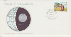 Numisbrief-Coins-Of-All-Nations-Franzoesisch-Polynesien-1981
