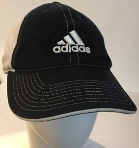 dfd0ddfe Adidas Performance Light Flex Fit Hat Black White Golf Cap Stretch ...