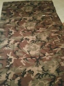 Woodland Camo Camouflage Cloth 56 Inches By 9 Ft Ghillie Suit