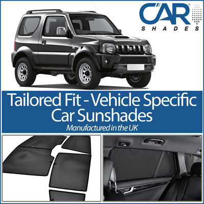 Car Window Sun Blinds Privacy UV Shades Suzuki Jimny 3 Door 1999 on