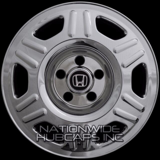 "4 CHROME 2005-06 Honda CRV 16"" Wheel Covers Rim Skins Hub Caps for Steel Wheels"