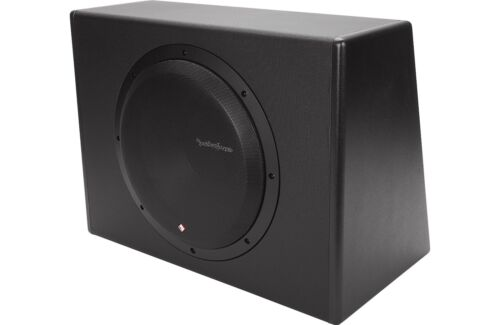 """AMPLIFIED SUBWOOFER ENCLOSURE ROCKFORD FOSGATE P300-12 PUNCH 12/"""" POWERED"""