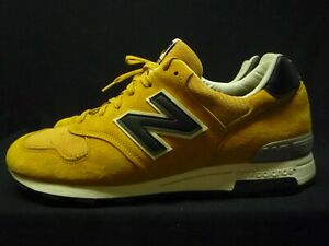 Details about New Balance M1400CL Made in the USA yellow/ mustard /black rare Men's sz 10.5
