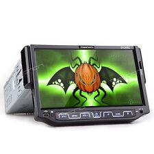 "7""e DVD/MP3 Flip-Out Touchscreen Car Stereo +Bluetooth CD DVD Player in-Dash USB"