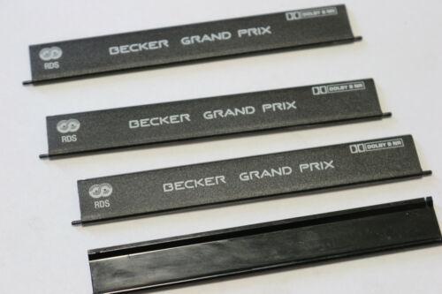 Mercedes Becker Grand Prix RDS BE 1311 Nouveau Fermeture Clapet Closing Flap Radio