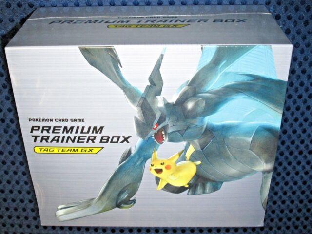 Pokemon Card Game Sun Moon Premium Trainer Box Tag Team GX SMJ Japon PIKACHU F/S