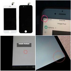 Apple IPHONE 6S Écran LCD Blanc Noir 100% Authentique Avec Dead Spot Ou Blemish