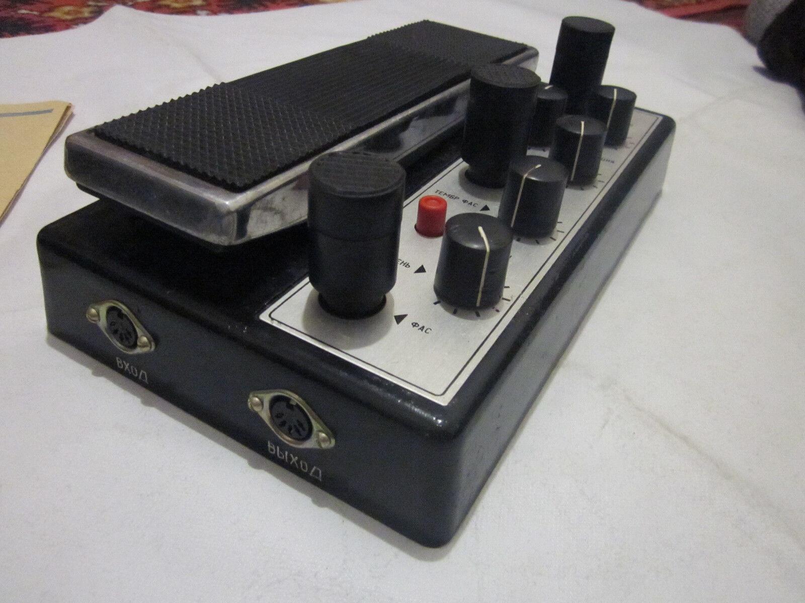 Efecto De Guitarra Soviética LTAVA Vintage Wah Wah Wah Wah Wah fuzz Analog Auto Wah Vibrato  tienda de bajo costo