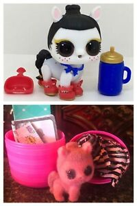 Girls Gift LOL Surprise doll FUZZY PETS Makeover Series 5 ICE BARKER No Fuzzy