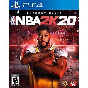 NBA-2K20-Sony-PlayStation-4-2019-PS4-Brand-New-Factory-Sealed