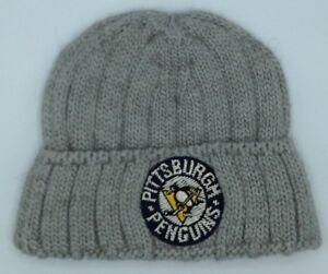 03d01c3da12 NHL Pittsburgh Penguins CCM Youth Cuffed Winter Knit Hat Cap Beanie ...