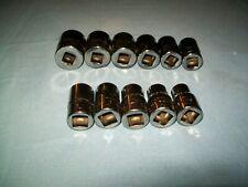 New Snap On 12 Drive 12 24 Mm 12 Pt Shallow Socket Swm121 To Swm241 Unused