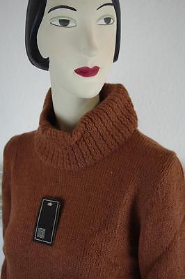 Modesto True Da Donna Vintage Dolcevita Mohair Marrone Taglia 36 Nos 80er Ovp 80s Brown-mostra Il Titolo Originale