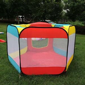 Indoor-Outdoor-Play-House-Easy-Folding-Ball-Pit-Hideaway-Tent-Play-Hut-for-Kids