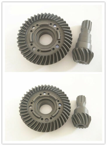 Hard Chrome Steel F /& R Spiral Cut Differential//Pinion Gear For Traxxas X-Maxx