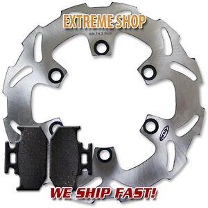 92-94 Pads TT-R 250 TT 250 R 93-00 Yamaha Rear Brake Rotor WR 200 99-06
