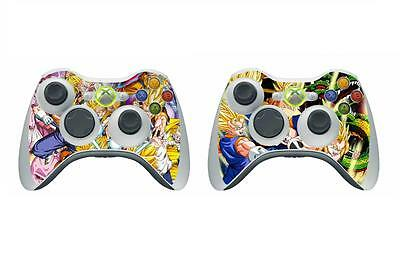 Video Games & Consoles Dragon Ball 272 Skin Sticker For Xbox360 Controller Faceplates, Decals & Stickers original/slim/e Version