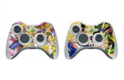 Video Game Accessories original/slim/e Version Dragon Ball 272 Skin Sticker For Xbox360 Controller Faceplates, Decals & Stickers