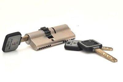 Cylinder Lock Cogwheel Gear Euro Profile 76mm High-Security Door Locks Locksmith