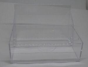 Details Zu 10 Visitenkartenhalter Glasklar Zum Aufklappen Für 100 Karten 9 5 X 6 X 3 Cm Neu