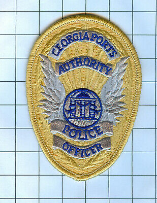 Georgia Police Patch Embroidered Mini-Patch Officer Port Authority