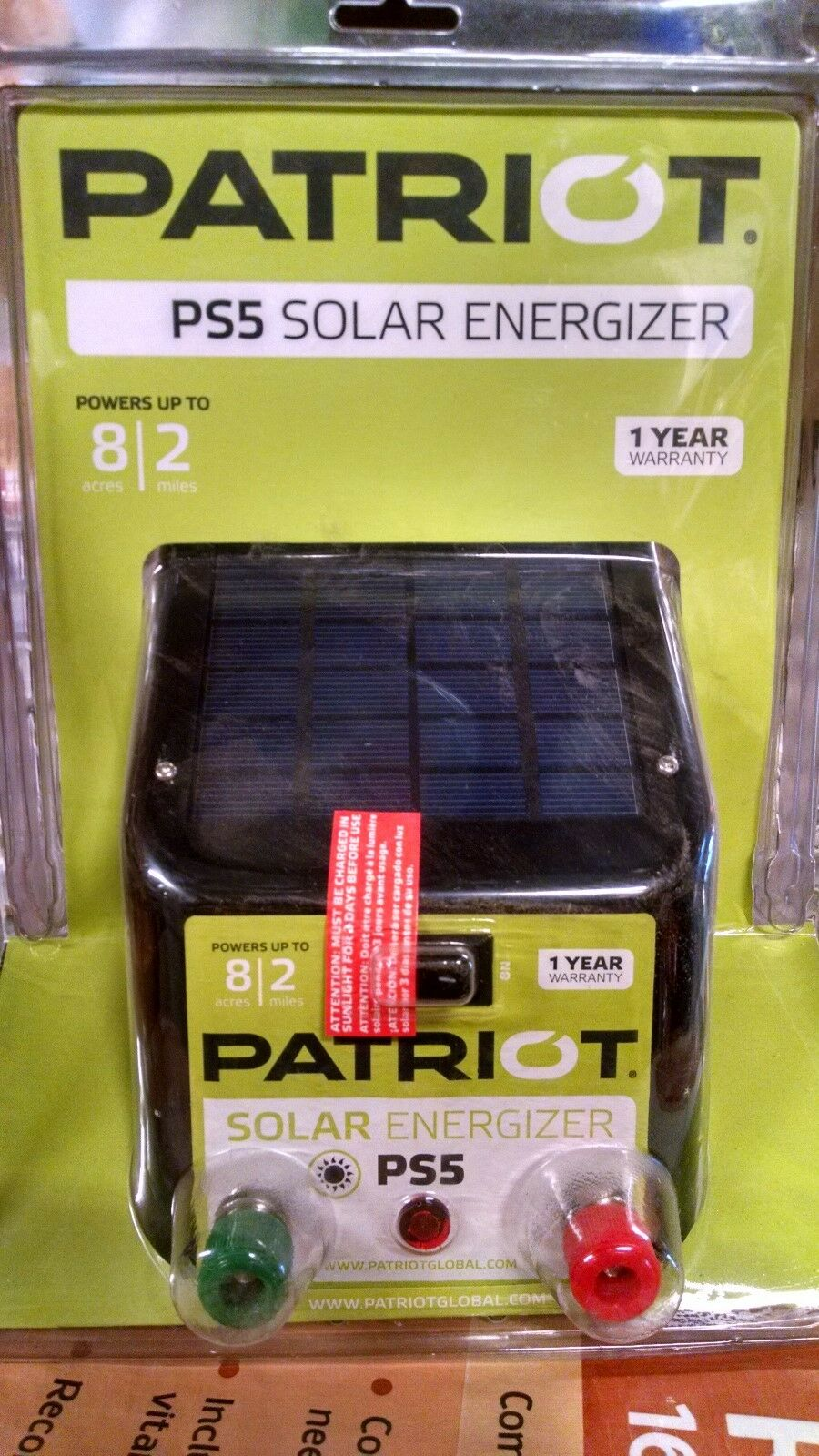 Patriot  PS5 Solar Fence Charger  lowest prices