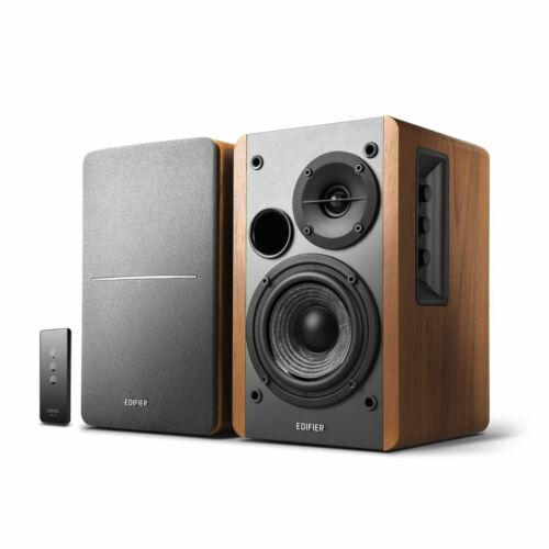 Edifier R1280T Powered Bookshelf Speakers 2.0 Active Near Field Monitors ...