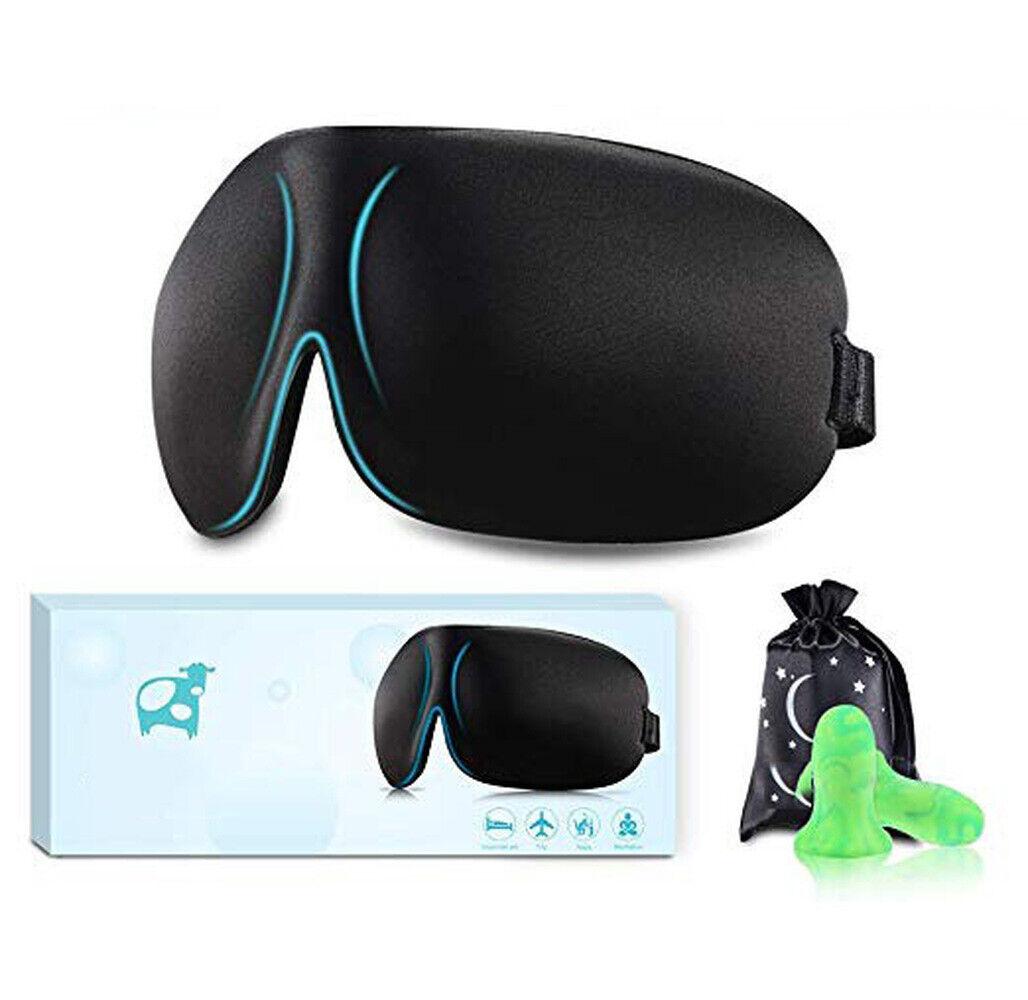 New Sleep Eye Mask 3D Memory Foam Padded Cover Sleeping Blin