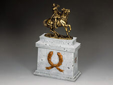SP092-GR Aust. Light Horse w/Large Equestrian Statue Plinth by King & Country