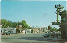 Street Scene in Beatty NV Postcard