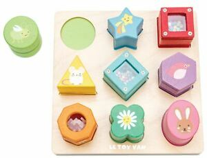 Le-Toy-Van-Petilou-BABY-SENSORY-SHAPES-Wooden-Toy-NEW