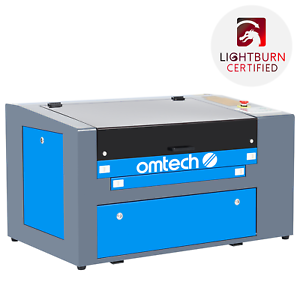 """OMTech Upgraded CO2 Laser Engraver Cutter 50W 12""""x20"""" Cutting Engraving Machine"""