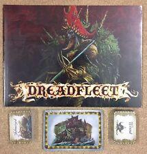 Warhammer Man O War Dreadfleet Rule book & Cards New Sealed