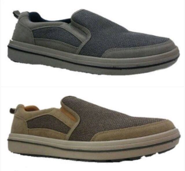 Faded Glory Men/'s Black Lace-up or Brown Slip-on Casual Sneakers//Shoes 7-13