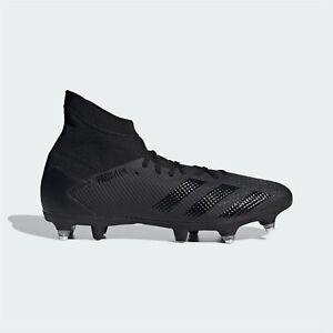 Adidas-Predator-20-3-SG-Chaussures-de-football-Homme-Gents-Terrain-Souple-Lacets-fixe