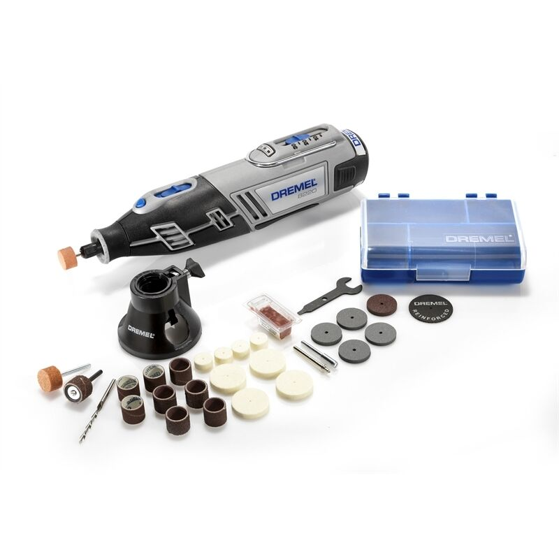 Dremel 8220 10.8V Lithium-ion Cordless Rotary Tool with 28 x Accessories