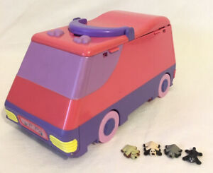Pound-Puppies-Super-Pound-Play-Van-Deluxe-PlaySet-amp-4-Figures-Galoob-1995Vintage