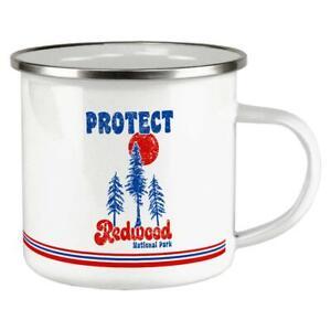 ecd1e27f2c6 Details about National Park Retro 70s Landscape Protect Redwood Camp Cup