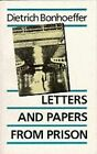 Letters and Papers from Prison by Dietrich Bonhoeffer (Paperback, 1971)