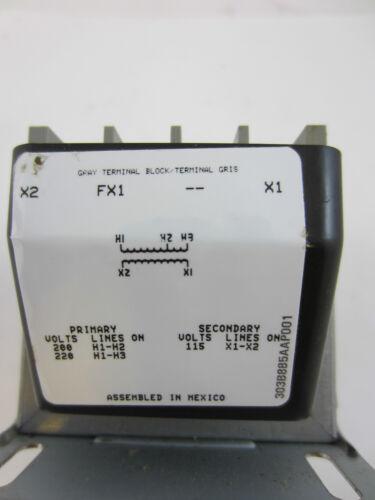 GENERAL ELECTRIC 9T58K3457G44 .050KVA  CONTROL TRANSFORMER 200//220 HV   115 LV