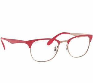 ray ban half rim eyeglasses