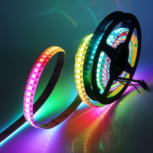 LED Digital Streifen WS2812B 5050 RGB Adressierbare Flexibler Strip Lichtband 5V