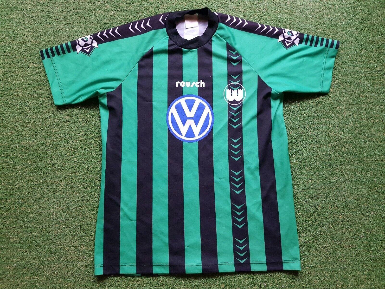 Vfl Wolfsburg Maglia XL 1994 1995 Reusch Shirt VW DFB Coppa Finale