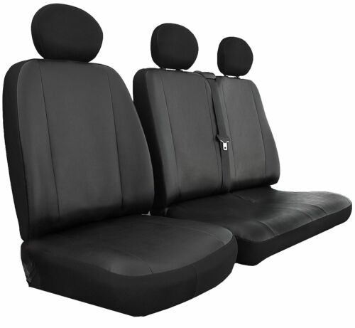 VAUXHALL MOVANO Heavy Duty MAYFAIR LEATHER LOOK Van Seat Covers Single /& Double