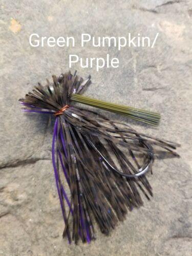 Grassy Custom Roundhead Finesse Jig 5 per pack