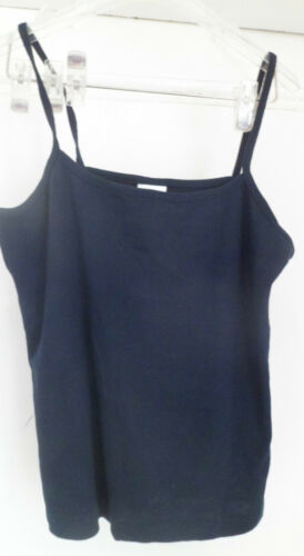 NEW LADIES SUMMER TWO VEST TOPS PINK ORNAVY SIZES 10-12 12-14 14-16 16-18