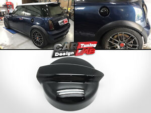 Details About Glossy Black Fuel Gasoline Cap Cover Overlay Fits Mini Cooper S R52 R53 02 06