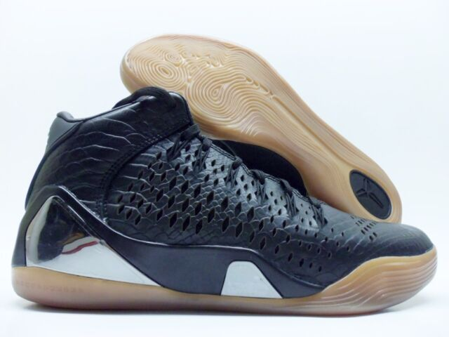 ed8dae04412cc Nike Kobe IX Mid EXT QS 704286-001 Men Basketball Shoes Snakeskin Black US  8.5