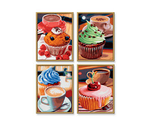 Schipper Malen Nach Zahlen Cupcakes Quattro 609340629 Ebay